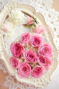Jennelise ~ Pretty Pink Roses