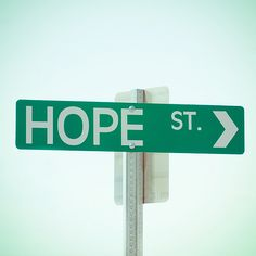 "HAVE STREET SIGN MAYBE AT THE CORNER OF PICKET FENCEWOULD LOOK CUTE W MAILBOX ""hope is the dream of the soul awake"""
