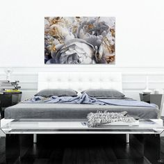 """You'll love the """"Her Peony Garden"""" Graphic Art on Wrapped Canvas at Wayfair - Great Deals on all Décor  products with Free Shipping on most stuff, even the big stuff."""