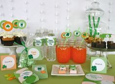 St. Patrick's Day Printables- Complete Party Collection. $21.00, via Etsy.