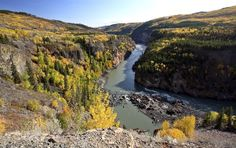 Grand Canyon of the Stikine River in British Columbia, Canada