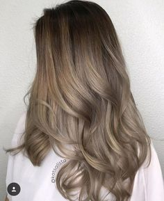 hair beauty - 8 Most Effective Summer Hair Care Tips 2019 Best Tips for Healthy Hair Cabelo Ombre Hair, Balayage Hair, Brown Balayage, Ash Brown Ombre, Honey Balayage, Haircolor, Ombre Hair Color, Brown Hair Colors, Brown Blonde Hair