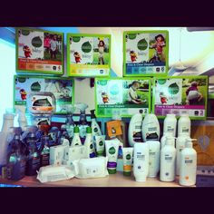 It's been a busy few months at Seventh Generation. All new products this year! http://instagram.com/p/NhOmUoptL6/