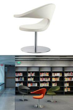 Swivel low lounge #chair N@T by ROSSIN | #design Martin Ballendat