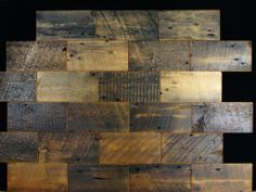 Reclaimed Old Growth Wood Wall Tiles