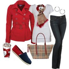Love the Burberry style  <3