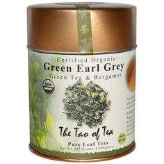 The Tao of Tea, Organic Green Tea and Bergamot, Green Earl Grey, 4.0 oz (115 g) The Tao of Tea, Organic Green Tea and Bergamot, Green Earl Grey, 4.0 oz (115 g) - 2pcs -- Learn more by visiting the image link. (This is an affiliate link) #GreenTea