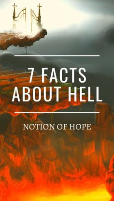 7 facts about Hell! The depressing truth is most people are going to Hell, but do you know what Hell will be like? What will be in Hell? Inspirational Scriptures, Bible Quotes, Bible Verses, How To Pray Effectively, Hell Quotes, Jesus Prayer, Bible Truth, Power Of Prayer, Spiritual Inspiration