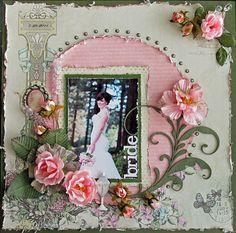 bride ~~~November SwirlyHues~~~ - Scrapbook.com