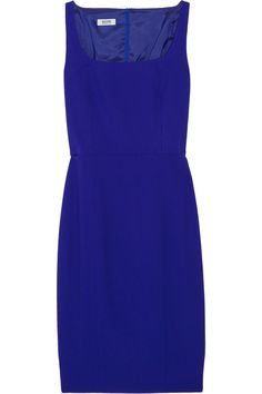 Moschino Cheap and Chic's wool-crepe dress is a one-step solution to creating hourglass curves. Defined by its striking cobalt hue and flattering shape, wear it from a mid-day meeting to a rooftop soirée with just a colorful clutch and patent pumps.