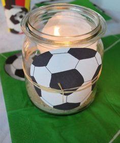 Windlicht Fußball …
