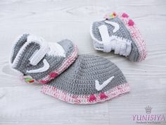Crochet baby shoes, Baby girl Booties, Crochet Air Mag Booties inspired by Marty McFly,  Air Mag, Back to the Future, crochet booties by Yunisiya on Etsy