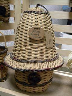 This is a basket I made. An original design...Home Tweet Home