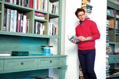 Weekend! Warto odpocząć,np. przy dobrej książce. Komfort i styl ubrań zapewni NAVIGARE.