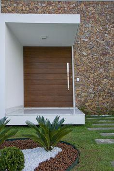Residência Unifamiliar - Natal | Galeria da Arquitetura #fachadasminimalistaspequeñas