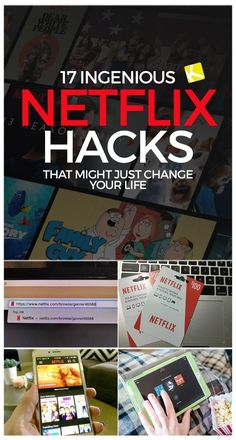 17 brilliant Netflix hacks that could change your life - . - 17 awesome Netflix hacks that could change your life – S - Tv Hacks, Netflix Hacks, N Netflix, Netflix Codes, Netflix Streaming, Watch Netflix, Netflix Users, Netflix Gift, Free Netflix Account