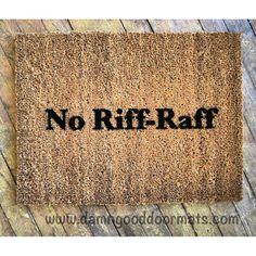 no riff raff fawlty towers john cleese britcom by DamnGoodDoormats, $40.00