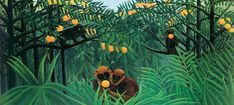 Henri Rousseau prints on canvas, including The Sleeping Gypsy, 1897, Henri Rousseau, Painting Collage, Painting & Drawing, Canvas Art Prints, Canvas Wall Art, Art Tropical, Jungle Art, Naive Art, French Art