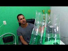 Bottle House, Bottle Garden, Pet Bottle, Diy Crafts Useful, Diy Home Crafts, Reuse Plastic Bottles, Plastic Bottle Crafts, Diy Storage Shed, Diy Garden Bed