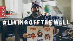 "Documentarian: Jared Eberhardt.  We meet Aaron Draplin at his day job as a designer at his studio, Draplin Design Company in Portland, Oregon. The tour quickly devolves into a discussion of his vast collections of well-organized junk, and includes a trip to an estate sale where Aaron picks up an ancient bag of peanut butter chips.  To see more of Jared Eberhardt's work visit http://livingoffthewall.vans.com/jared-eberhardt/  Music: ""Vampiring Again"" by Califone."