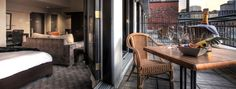 In the heart of Montreal's old town, Place d'Armes Hotel & Suites offers a sleek and contemporary haven for travelers with decidedly modern sensibilities. Destin Hotels, Old Montreal, New Orleans Travel, Saint Jacques, Hotel Suites, Top Hotels, Outdoor Furniture Sets, Outdoor Decor, Haunted Places