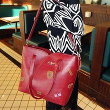 Freeshipping, The new badge package, Fashion women handbags, Portable shoulder bag, 2014 New(China (Mainland))US $27.24