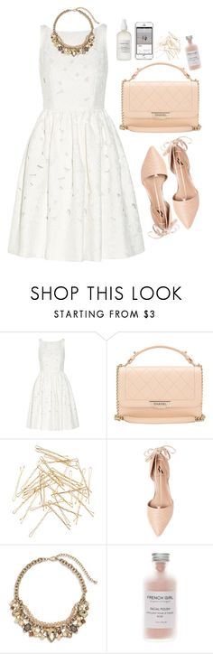 """""""Untitled #5015"""" by prettyorchid22 ❤ liked on Polyvore featuring Dolce&Gabbana, Chanel, Monki, Ava & Aiden, Chico's and French Girl"""