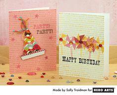Hero Arts Cardmaking Idea: Birthday Party