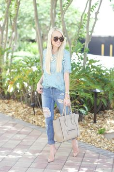 A Spoonful of Style: Mint Lace
