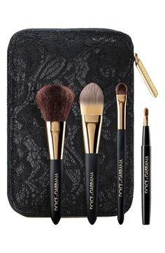 Dolce&Gabbana Beauty Dolce&Gabbana Mini Brush Set available at #Nordstrom