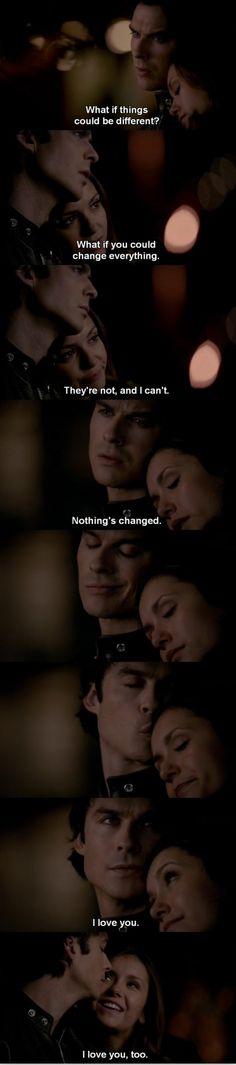 The Vampire Diaries TVD 6X18 - Damon & Elena