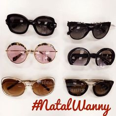Que dúvida... #Valentino #chanel #miumiu #chloe #prada #natalwanny #oticaswanny #euquero #presentedenatal #amigosecreto #compreonline #pradacinema #chloecarlina #carlina #51qs #redondo #gatinho #cateye #natal #oculos
