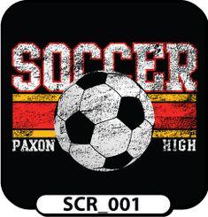 School Soccer T-Shirts