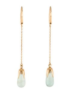 Pomellato 18K Chalcedony Veleno Drop Earrings