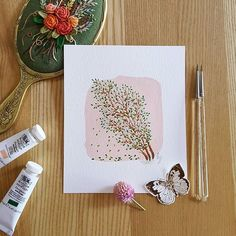 love this natural way of painting without sketching😀 °°°°°°°°°°°°°°°°°°°°°°°°°°°°°°°°°°°°°°°°°°°°°°°°°°°°°°°°°°°°°°°°°°°°°°°°°°°° #winsorandnewton #gouache #artworks #watercolorpainting #illustrationart #illustration #illustrations #sketchbook #coloring #watercolorart #watercolor #watercolorillustration #creativeart  #artdaily #handmadeart #수채화 #일러스트 #손그림