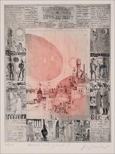 Ádám Würtz – Romeo and Juliet Julia, Romeo And Juliet, Art Inspo, Childrens Books, Screen Printing, Fairy Tales, Vintage World Maps, Literature, Illustration Art