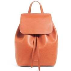Mansur Gavriel Mini Backpack in Brandy