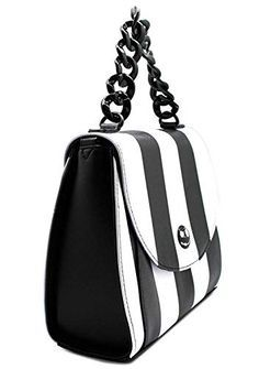 bdd2944068 Loungefly Nightmare Before Christmas Womens Striped Saddle Crossbody Bag  Buy New   64.00 -  67.95