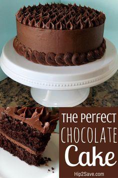 57 Best Chocolate Cake Designs Images Desserts Pound Cake