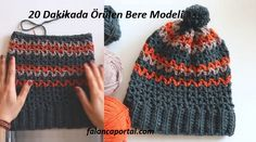 20 Dakikada Örülen Bere Modeli See other ideas and pictures from the category menu…. Viking Tattoo Design, Viking Tattoos, Crochet Beanie, Knitted Hats, Sunflower Tattoo Design, Crochet Woman, Homemade Beauty Products, Matching Couples, Crochet Videos