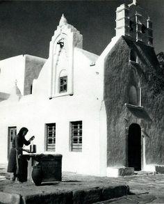 Μύκονος δεκαετία 1950 φωτογραφία Βούλα Παπαιωάννου