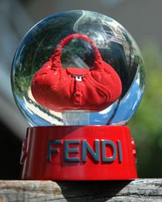 Fendi Snow Globe. #MRSBITTERCHEF