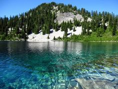 Gem Lake (near Snoqualmie, WA).  Isn't it gorgeous?!
