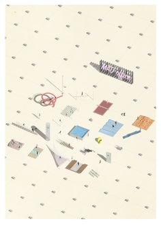 TEAM: Federica Fogazzi, Matteo Pavanello (University of Ferrara), Italian Mad Office The physical, economic and social environments in which modern huma Axonometric Drawing, Social Environment, Physics, Mad, University, Architecture, Modern, Graphics, Drawings