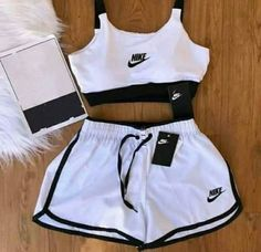Cute Nike Outfits, Cute Lazy Outfits, Swag Outfits For Girls, Teenage Girl Outfits, Girls Fashion Clothes, Sporty Outfits, Teen Fashion Outfits, Athletic Outfits, Mode Outfits