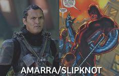 Conheça os integrantes do novo filme do Esquadrão Suicida (Suicide Squad) da DC Comics - Christopher Weiss (Amarra/Slipknot)