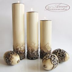 1 million+ Stunning Free Images to Use Anywhere Diy Candle Holders, Diy Candles, Pillar Candles, Diy Arts And Crafts, Fun Crafts, Diy Diwali Decorations, Baptism Candle, Paper Mache Sculpture, Clay Vase