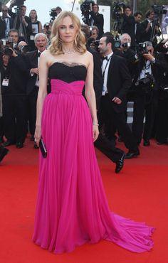 More Pics of Diane Kruger Evening Dress