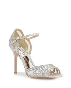 Badgley Mischka Tansy Embellished Evening Shoe, now available at the official website. Free shipping, returns and exchanges.