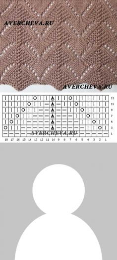 ideas for knitting machine patterns posts Baby Knitting Patterns, Lace Knitting Stitches, Knitting Charts, Lace Patterns, Knitting Designs, Knitting Projects, Crochet Patterns, Knitting Sweaters, Knitting Needles